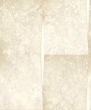 UGEPA Vinyltapete Marmorfliese, Beige, J93507