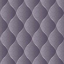 UGEPA Vinyltapete Polsterdesign, lila, J95806