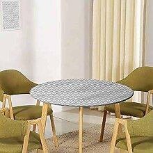 UHOO2018 Moderne Tischdecke mit elastischem Rand