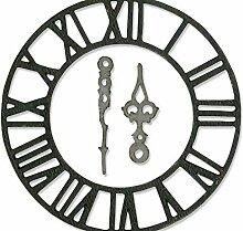 Uhr - Carving-Schablone Bigz, Sizzix, Dekoration,