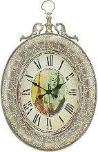 Uhr Elizabeth in Silber ca. 56,5/82 cm