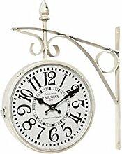 Uhr Typ Ladestation weiß antik