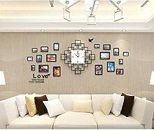 Uhren - Wanduhr Wohnzimmer Modern Home Silent