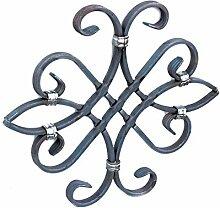 UHRIG #554 NEU! Schmiedeeisen Ornament Gitter