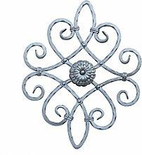 UHRIG NEU! Schmiedeeisen Ornament Gitter