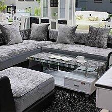 UIEOPWKXHNFC Europäische Sofa Matte/Stoff Sofa
