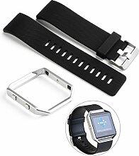 UKCOCO Fitbit Blaze Frame + Armband für Fitbit