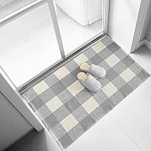 Ukeler Grauer und weißer Teppich, 3 × 5,