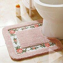 Ukeler Luxuriöser, weicher WC-Vorleger mit