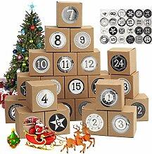Ulikey 24 Boxen Geschenkboxen Schachteln