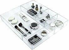 Ulinek 5-teiliges Schubladen Organizer Set,