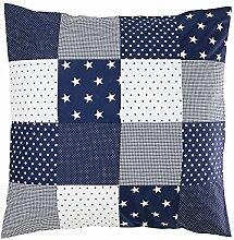 ULLENBOOM ® Baby Bettdeckenbezug 80x80 Blaue