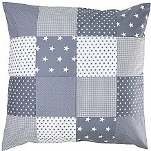 ULLENBOOM ® Baby Bettdeckenbezug 80x80 Graue