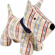 Ulster Weavers 100% Baumwolle mit Schottenmuster Türstopper, Hund