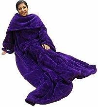 Ultimate Slanket Ärmeln, Violett, Decke mit
