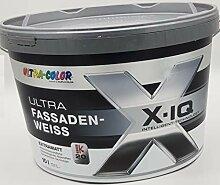 Ultra Color X-IQ Fassadenfarbe Weiß Silikonharz