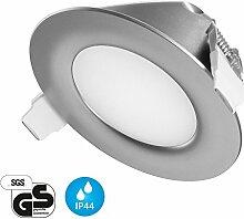 Ultra Flach LED Einbaustrahler IP44 | auch für