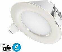 Ultra Flach LED Einbaustrahler IP44 für den