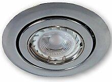 Ultra Flacher 230V LED Spot Einbaustrahler SSD004