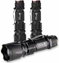 UltraFire LED Taschenlampe,U5 300-LUMEN(Max)