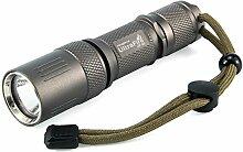 UltraFire LED Taschenlampe UF60,1000 Lumens 5
