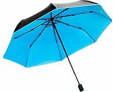 Ultraleicht Mini-Regenschirm Sonnenschirm Sonnenschutz Anti UV-Strahlen Klar Regenschirm,14