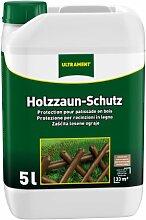 Ultrament Holzzaun-Schutz, naturbaun, 5l