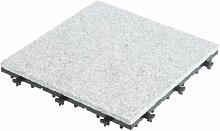 Ultranatura Bodenfliese aus Granit, 4 Stück im Se