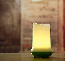 Ultraschall-Luftbefeuchter Diffusor, SOONHUA Ultraschall-Luftbefeuchter Aroma Diffuser Nebel Luftreiniger Atomizer Aroma Start Schlafzimmer Romantische Nachtlicht (Green)
