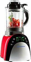 Ultratec Mixer mit Aufwärmfunktion – Multifunktions-Küchengerät mit Touchscreen, 7 Programmen und Temperaturvorwahl, 1.800 Watt, Ro