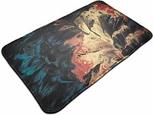 Ultraweicher, moderner Teppich mit abstraktem