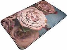 Ultraweicher, moderner Teppich mit staubigem