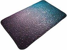 Ultraweicher, moderner Teppich mit Taumuster, für