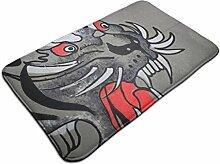 Ultraweicher, moderner Teppich mit Tigermuster,