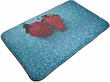 Ultraweicher, moderner Teppich mit zwei