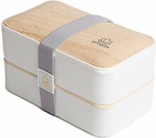 Umami Bento Original Weiss -Lunchbox Mit 2
