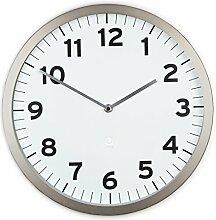 Umbra 1005476-660 Anytime Wall Clock, Wanduhr aus Metall, Weiß