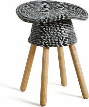 Umbra - Coiled Hocker, grau