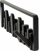 Umbra - Skyline Garderobenleiste, schwarz