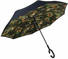 Umgekehrter Regenschirm Innovative Winddicht und