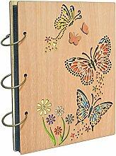 Umi. Essentials Fotoalbum aus Holz für 120 Bilder