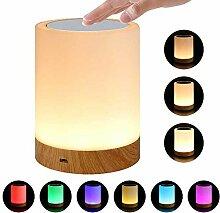 Umiwe Touch Nachtlicht Lampe für Schlafzimmer