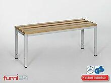 Umkleidebank 100 cm x 42 cm x 40 cm TÜV / GS geprüft!