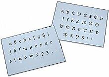 UMR-Design AS-051 font Airbrushschablone Step by Step Grösse XL