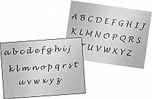 UMR-Design AS-125 font Airbrushschablone Step by Step Grösse XL
