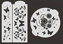 UMR-Design TO-006 Summer Tortenschablone Grösse 24cm