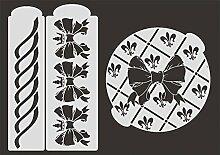 UMR-Design TO-009 Loop Tortenschablone Grösse 24cm