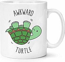 Umständlich Schildkröte 283g Becher Tasse