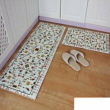 Umweltfreundliche Farbstoff Küche Matten/Lange Küche Matte/Fußmatte/Mats/Badematte/Fußmatten-C A