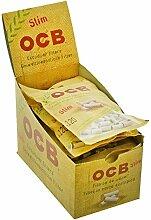 Umweltfreundliche OCB Filter Organic Slim - 10 x +